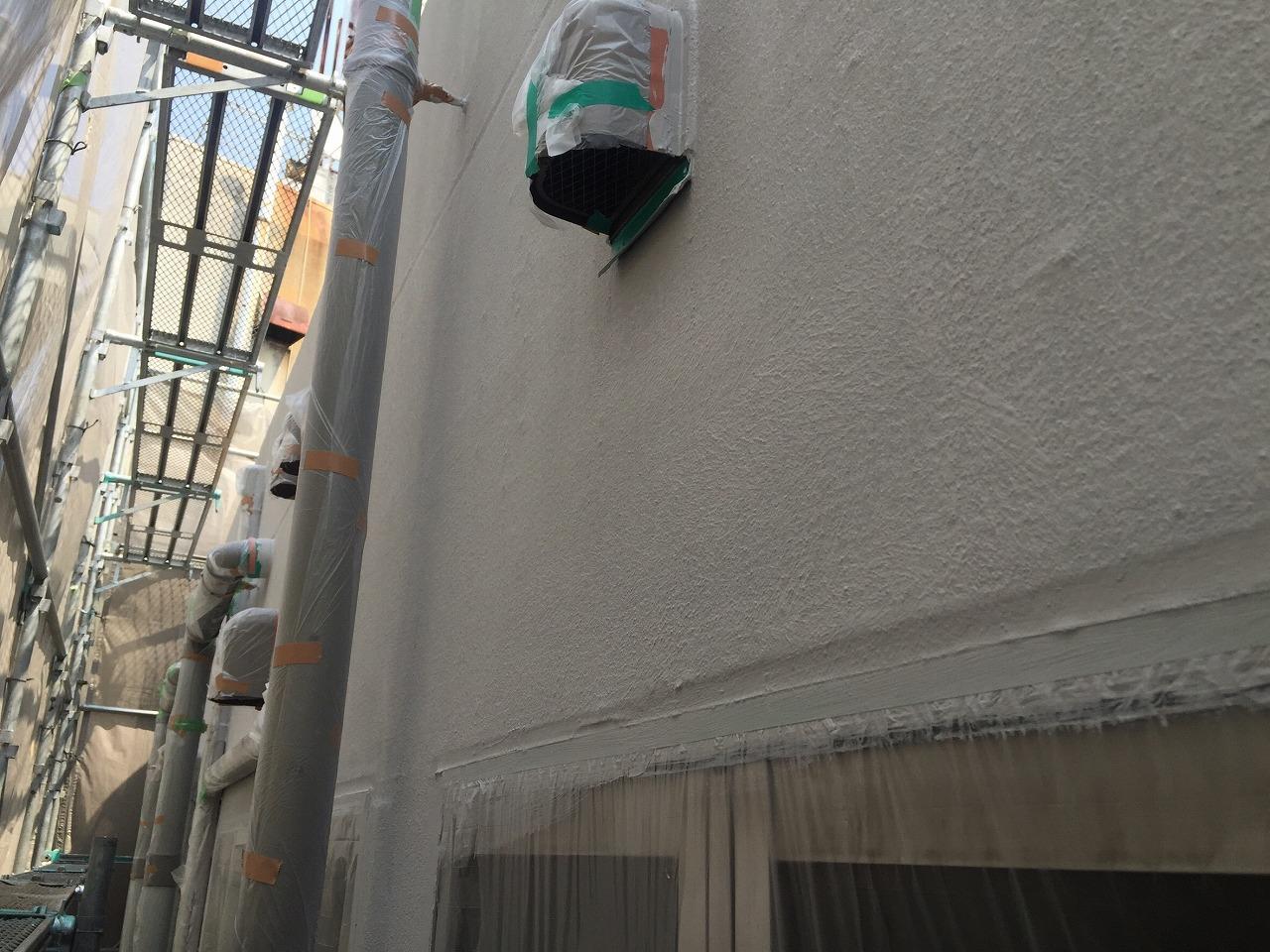 ガイナ外壁塗布2