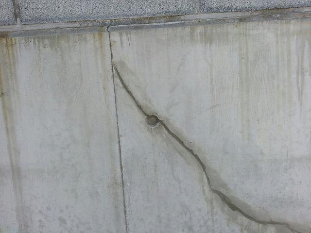 外壁クラック補修アフター