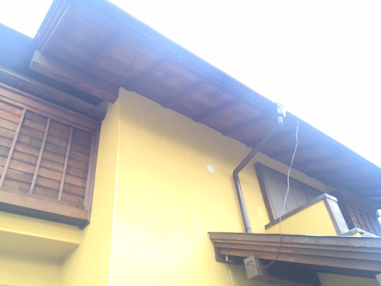 外壁塗装施工完了